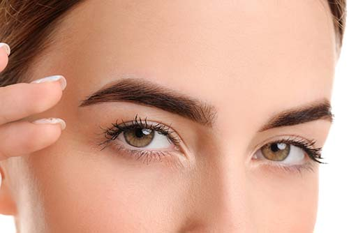 How does botox to lift eyebrows work?