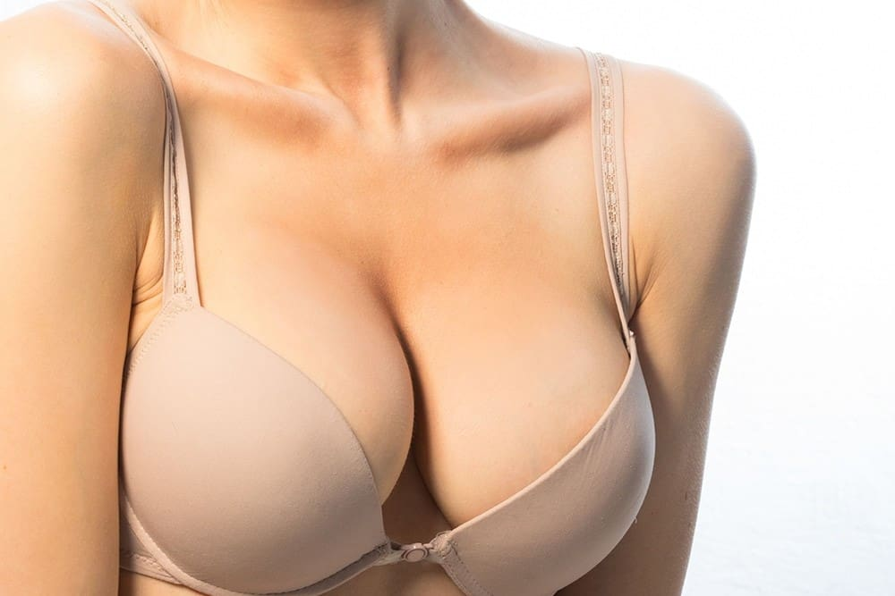 Different types of breast implants