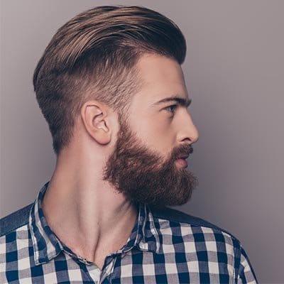 التحضير لعملية زراعة الشعر اللحية