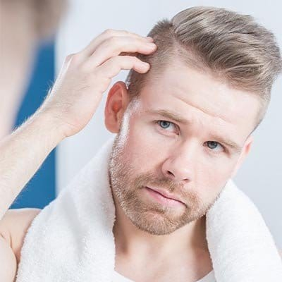 الآثار الجانبية لزراعة الشعر